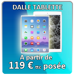 Remplacement dalle tablette