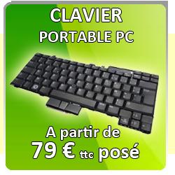Remplacement clavier PC