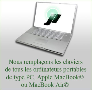 Remplacement clavier MacBook Air Apple